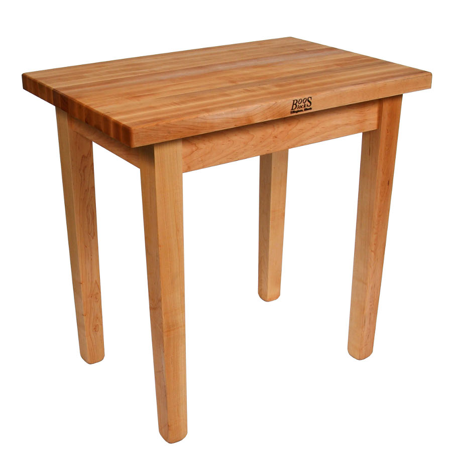kitchen island table kitchen island tables John Boos C Country Work Table Maple Butcher Block 21 Models