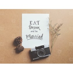 Showy Be Married Quote Youworkform Eat Drink Be Married Quote Photos Eat Drink Be Married Coasters Eat Drink Be Married Plastic Cups Eat Drink inspiration Eat Drink And Be Married