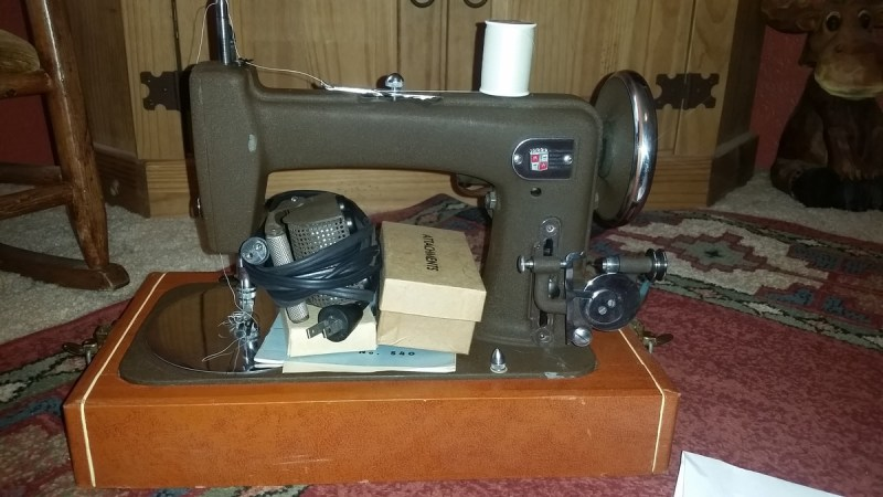 Large Of Montgomery Ward Sewing Machine