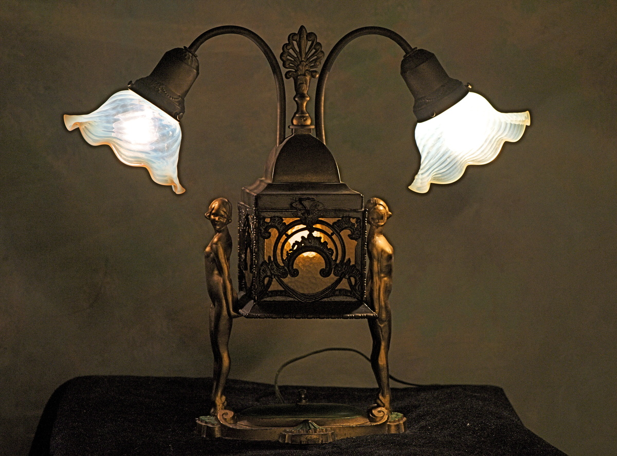 Elegant My Art Deco Lamp Collectors Weekly Art Deco Lamp Post Art Deco Lamp Lady houzz-03 Art Deco Lamp