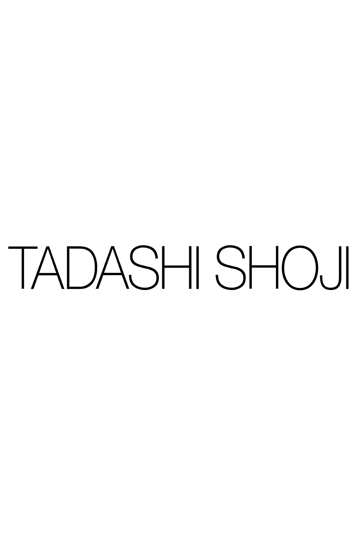 The Wedding Guide Fall Wedding Guest Attire Edition black dress wedding guest TADASHI SHOJI METALLIC CHANTILLY LACE OVER SEQUIN LACE V NECK GOWN
