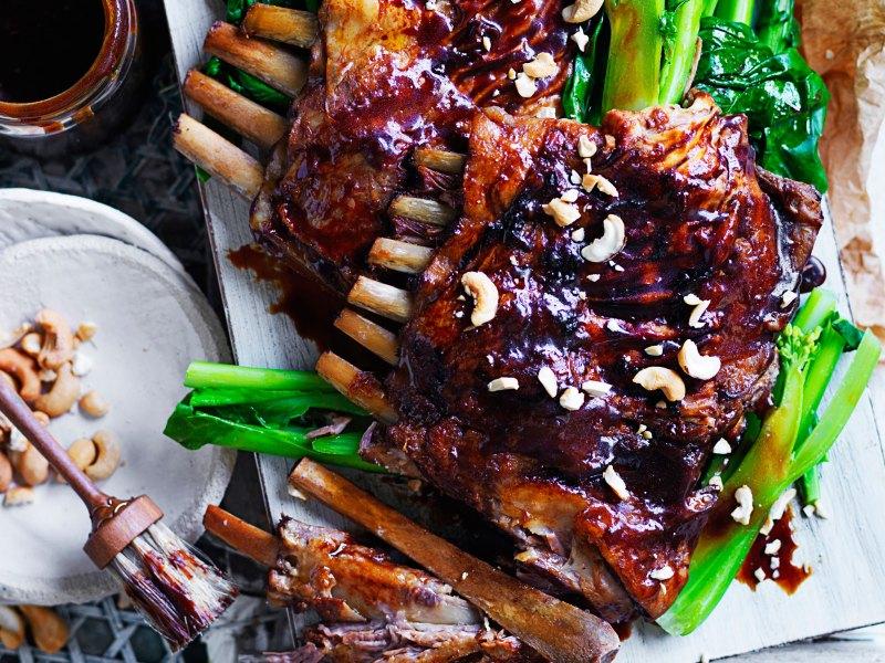 Large Of Lamb Ribs Recipe