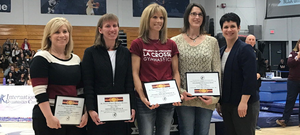 Eight Inducted into NCGA Division III Gymnastics Hall of Fame