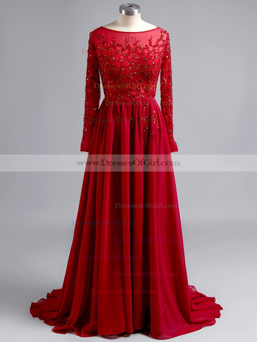 Fullsize Of Long Sleeve Prom Dress
