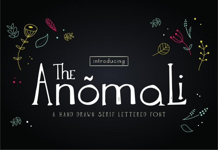 Anomali Font Download