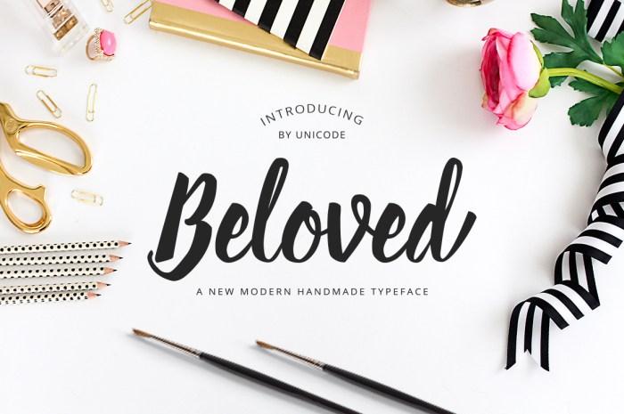 Beloved Font Download