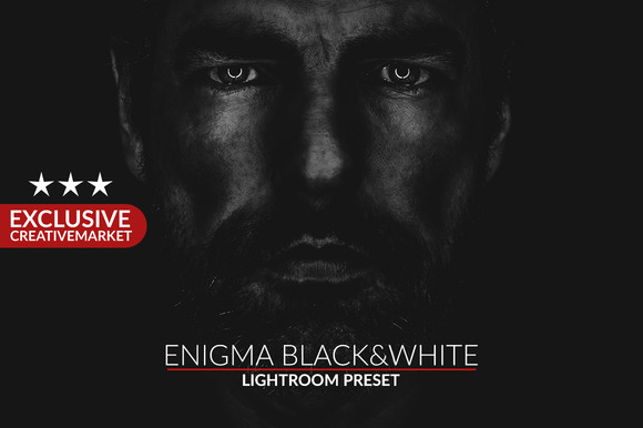 CM 298141 - Enigma Black&White Lightroom Presets