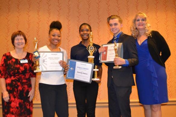 2016 Youth speech contest winners