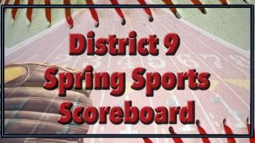 spring sports scoreboard