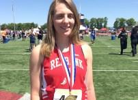 Brooke Hinderliter medal