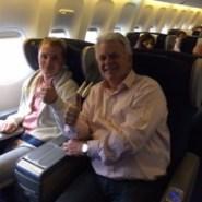 In het vliegtuig (2014)