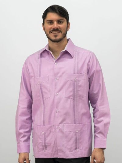 D'Accord Men's Cuban Guayabera the Best Fitting on the Planet