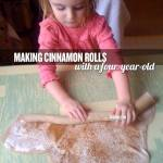 Roll up your cinnamon rolls.
