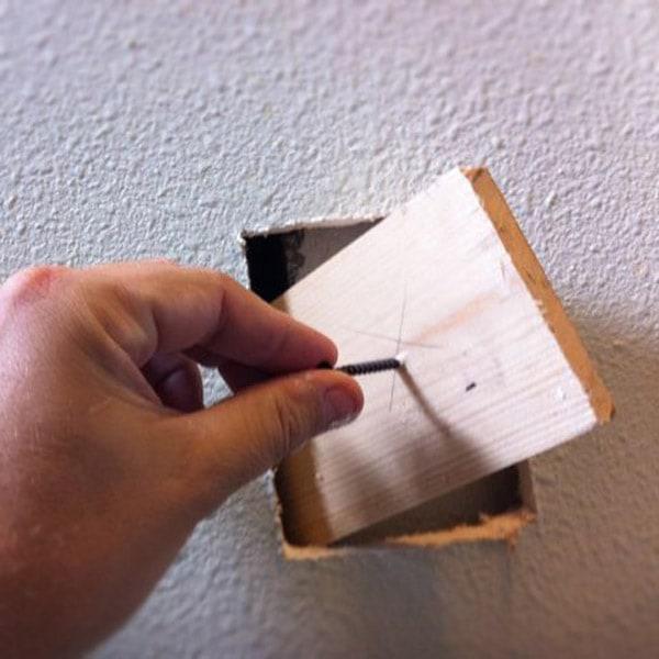 Reinforcing drywall or sheetrock