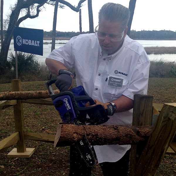 Kobalt 40-Volt Max 12-in Cordless Electric Chainsaw