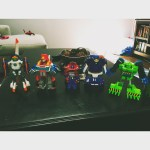 My son inadvertently set up a police line-up for his…