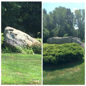 When I was a kid this rock was nestled inhellip