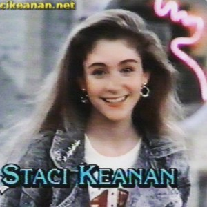 Staci Keanan from My Two Dads FTW! WCW