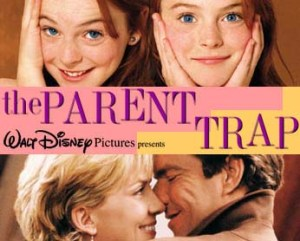 parenting, parent trap, lindsay lohan, dennis quaid, movies, pop culture, disney, toddlers, dads, fatherhood, family, living, home, motherhood, moms, identity, personality, blogging