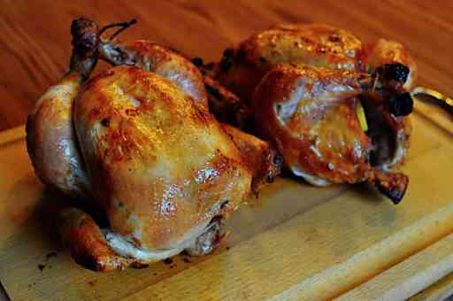 Rotisserie Chicken, Dry Brined with Rosemary, Lemon, and Garlic | DadCooksDinner.com
