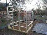 6×8 Harbor Freight Greenhouse Assembly