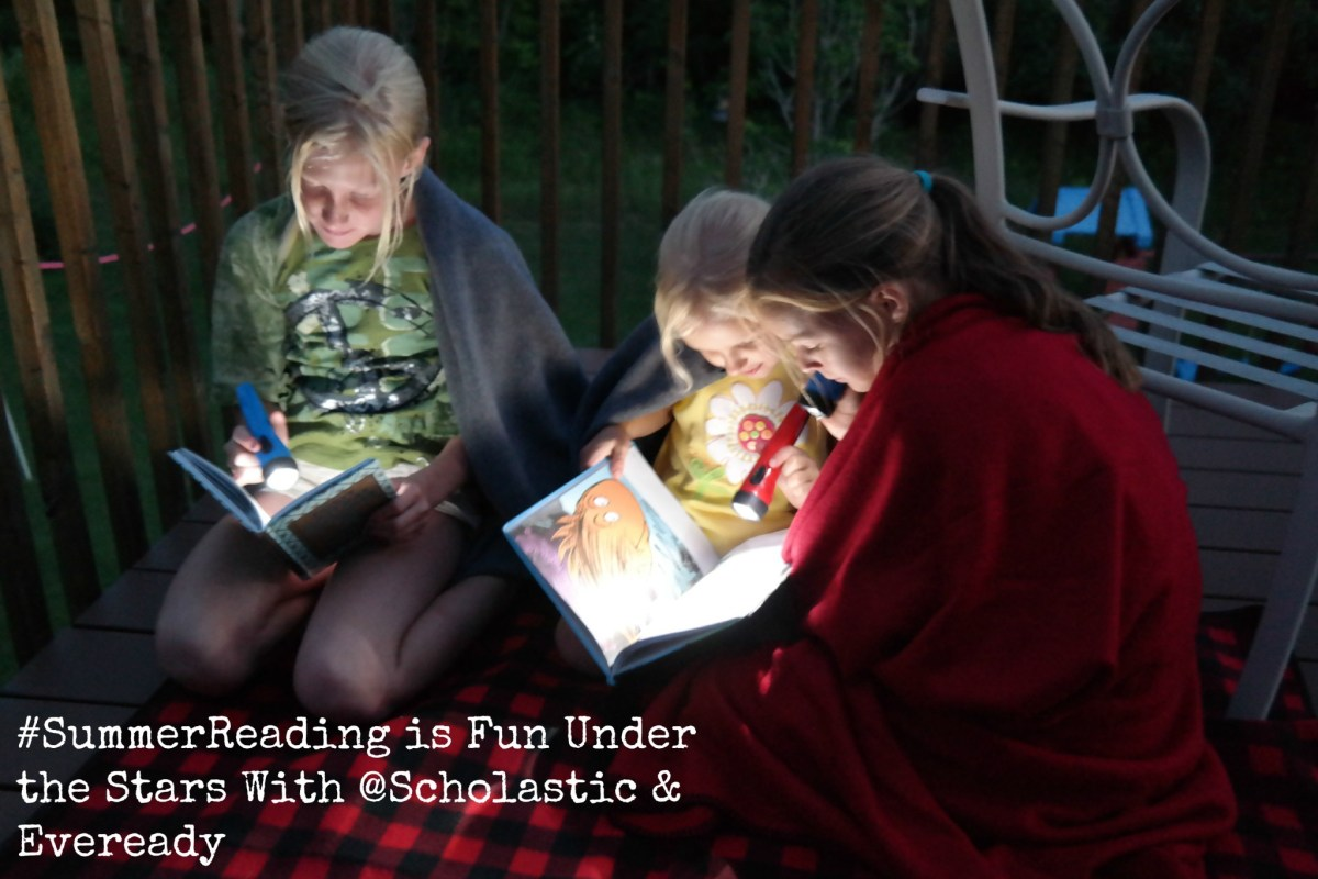 Read Under the Stars With #SummerReading & @Scholastic