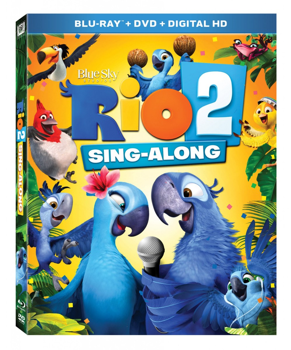 Rio 2 Sing-Along Blu-Ray #giveaway #celebraterio2 #dadchat