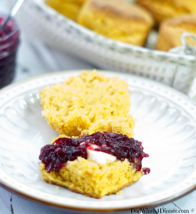 Sweet Potato Biscuits with Beetroot Orange Marmalade probably isn't what your mother had in mind when she told you to eat your veggies