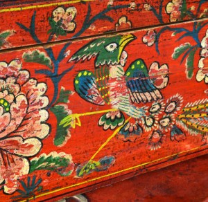 Chinese Red Lacquer Boxes