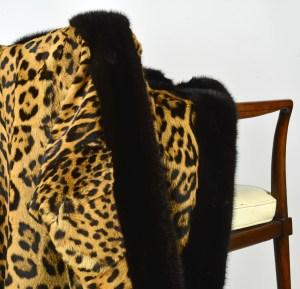 Leopard Mink Jacket 11