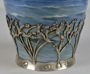 Royal Copenhagen Sterling Vase 8