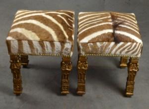 Zebra Stools 8
