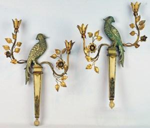 Maison Bagues Parrot Sconces