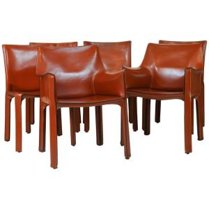 cassina-leather-chairs