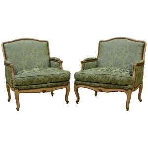 Louis XV Style Bergeres