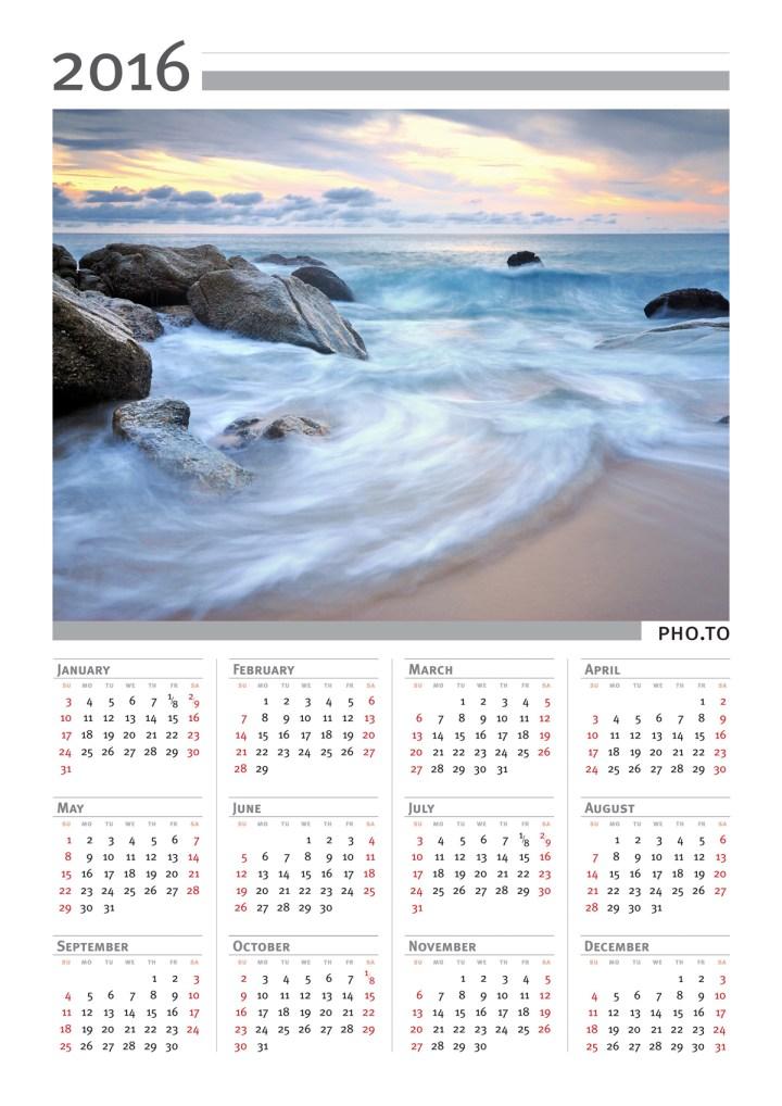 ... Calendar Maker. Personalised Calendars 2016 Make Photo Calendar Online
