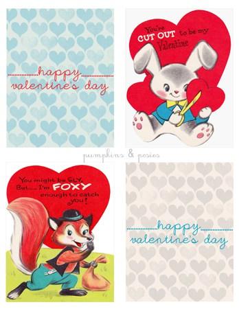 Valentine's Day card free printables
