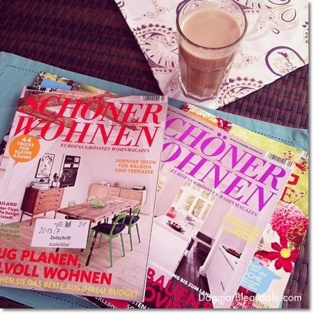 German interior design magazines