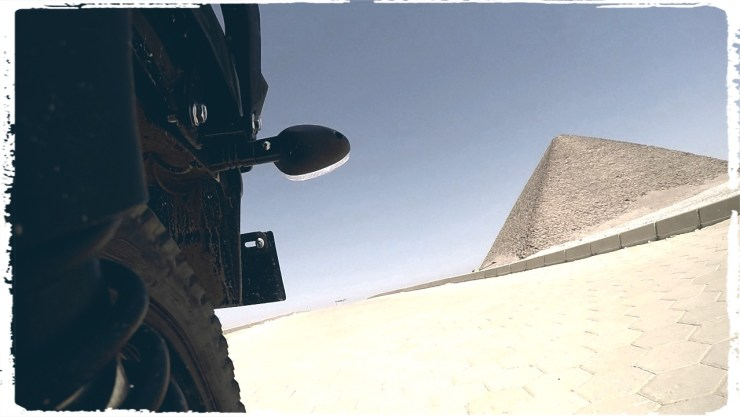 I left the Red Pyramid of Dahshur in my dusty wake
