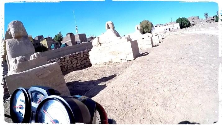 Sphinx Alley, Karnak Temple, motorcycle egypt, luxor temple, egypt, wanderlust, dagsvstheworld, rtw trip, luxor, nile