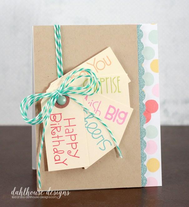 dahlhouse designs | 10.2015 birthday tags card