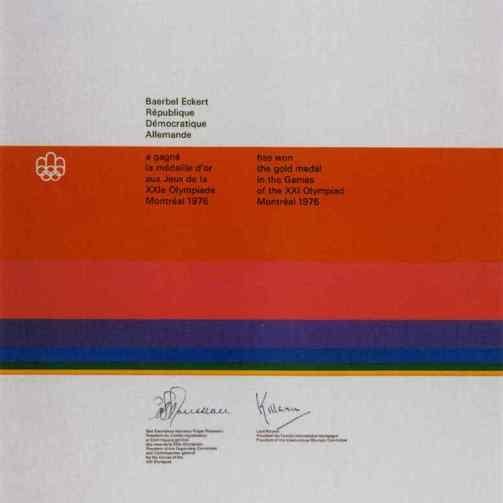 1976-olympic-winner-diploma
