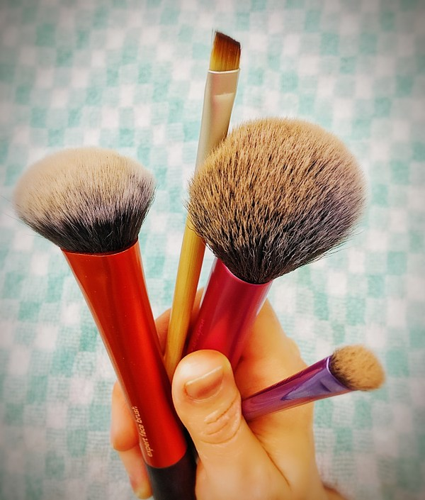 Brushes in Need of Cleaning