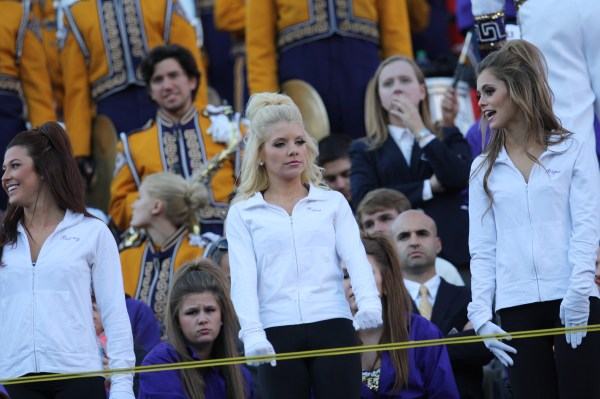 The  LSU Tigerettes