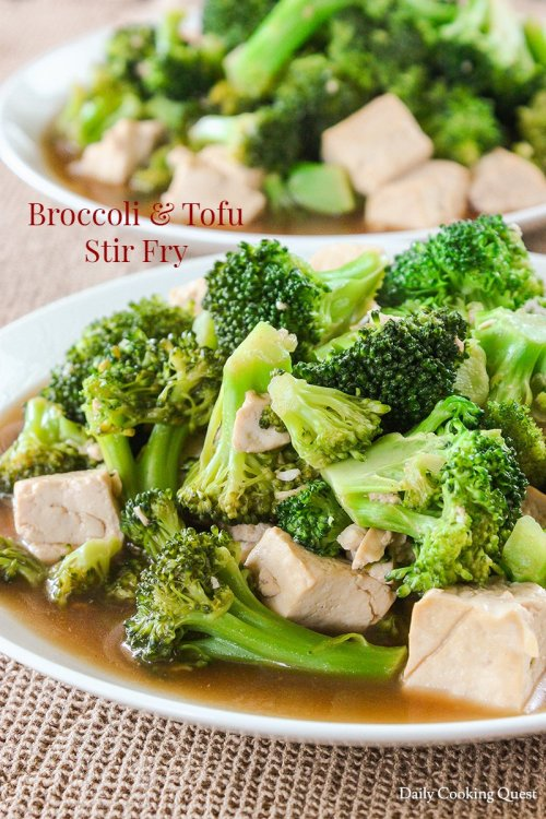 Medium Of Stir Fry Broccoli