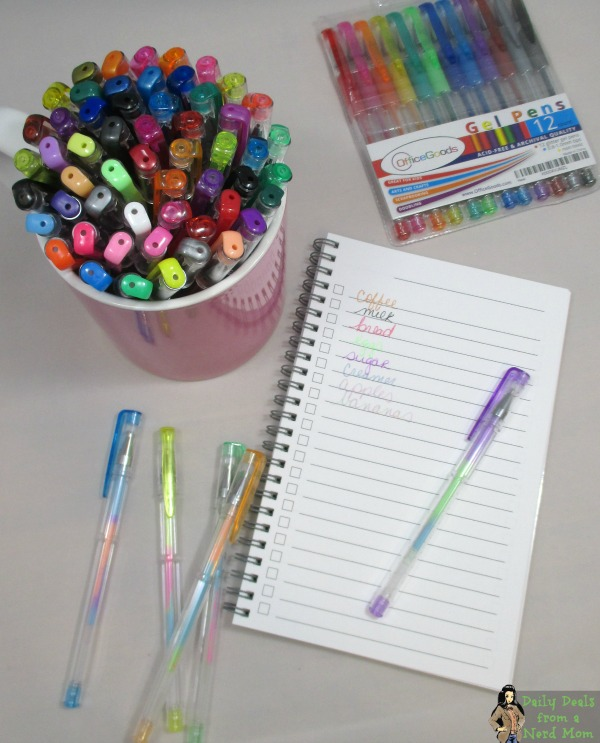 OfficeGoods Gel Pens Bundle #Giveaway (US, 6/6/16)