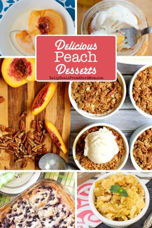 10 Delicious Peach Desserts
