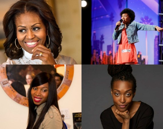 female empowerment, Jayna Brown, Michelle Obama, Franchesca Ramsey, and More