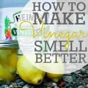 How To Make Vinegar Smell Better