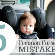 5 Common Carseat Mistakes